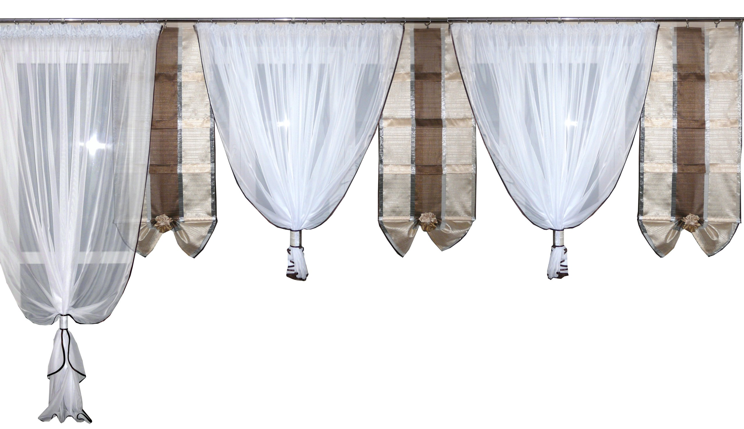 Firany Firanki Panele Wachlarzebalkon Kar45 5m