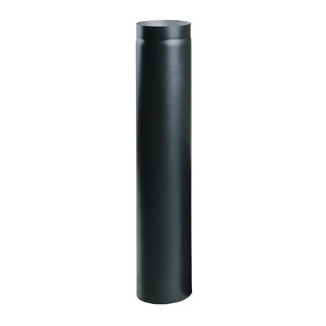 Čierna krbová rúra 100 cm fi 250