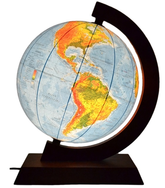 Svete 320 2v1 Podsvietený STROM časové pásma