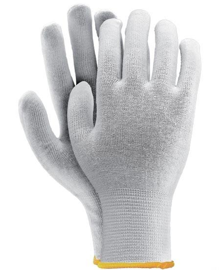 Bavlnené rukavice biela s sťahovacím pultom s ml x x
