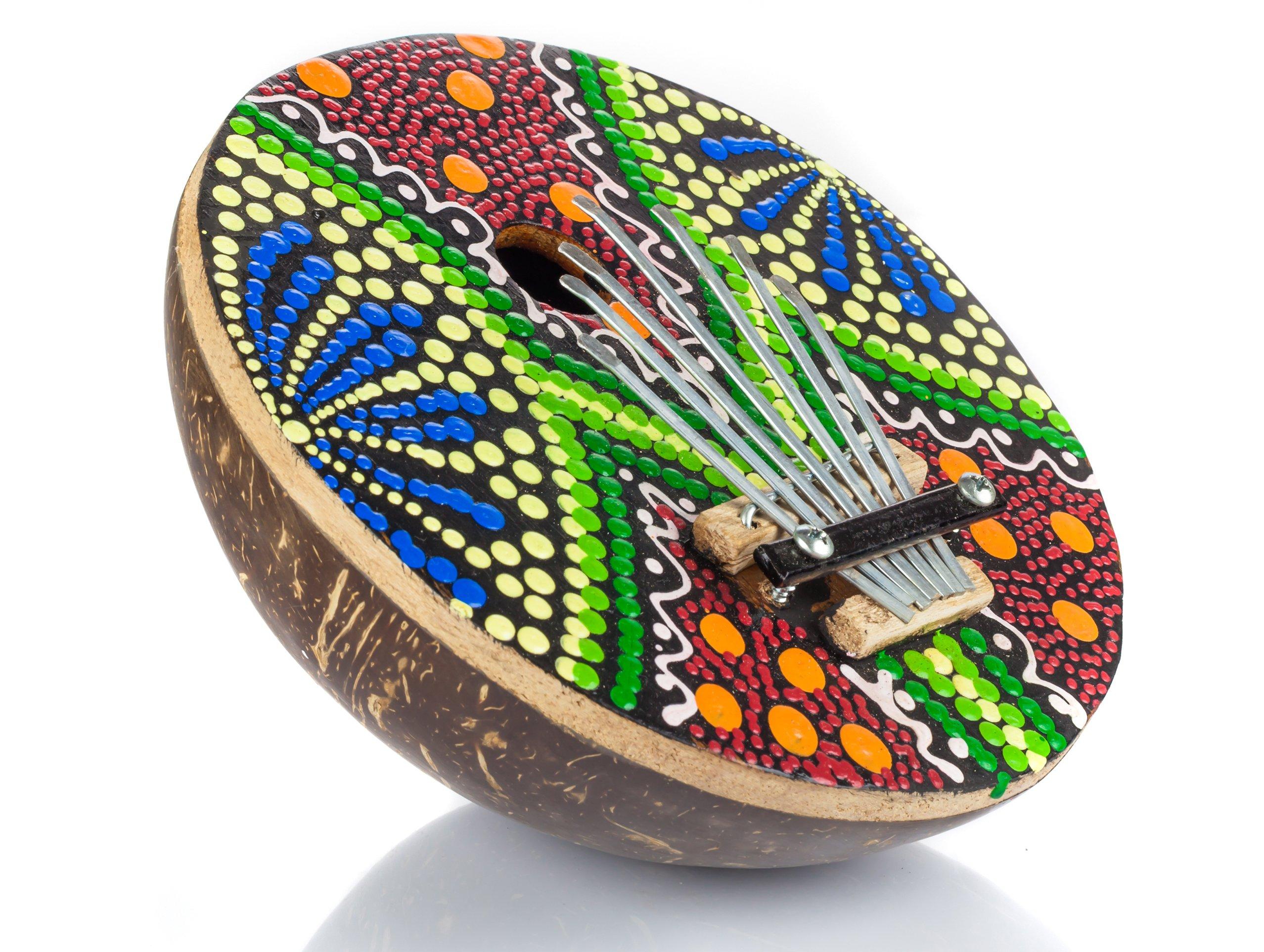 Karimba orientálne nástroje Kalimba Coconut Color