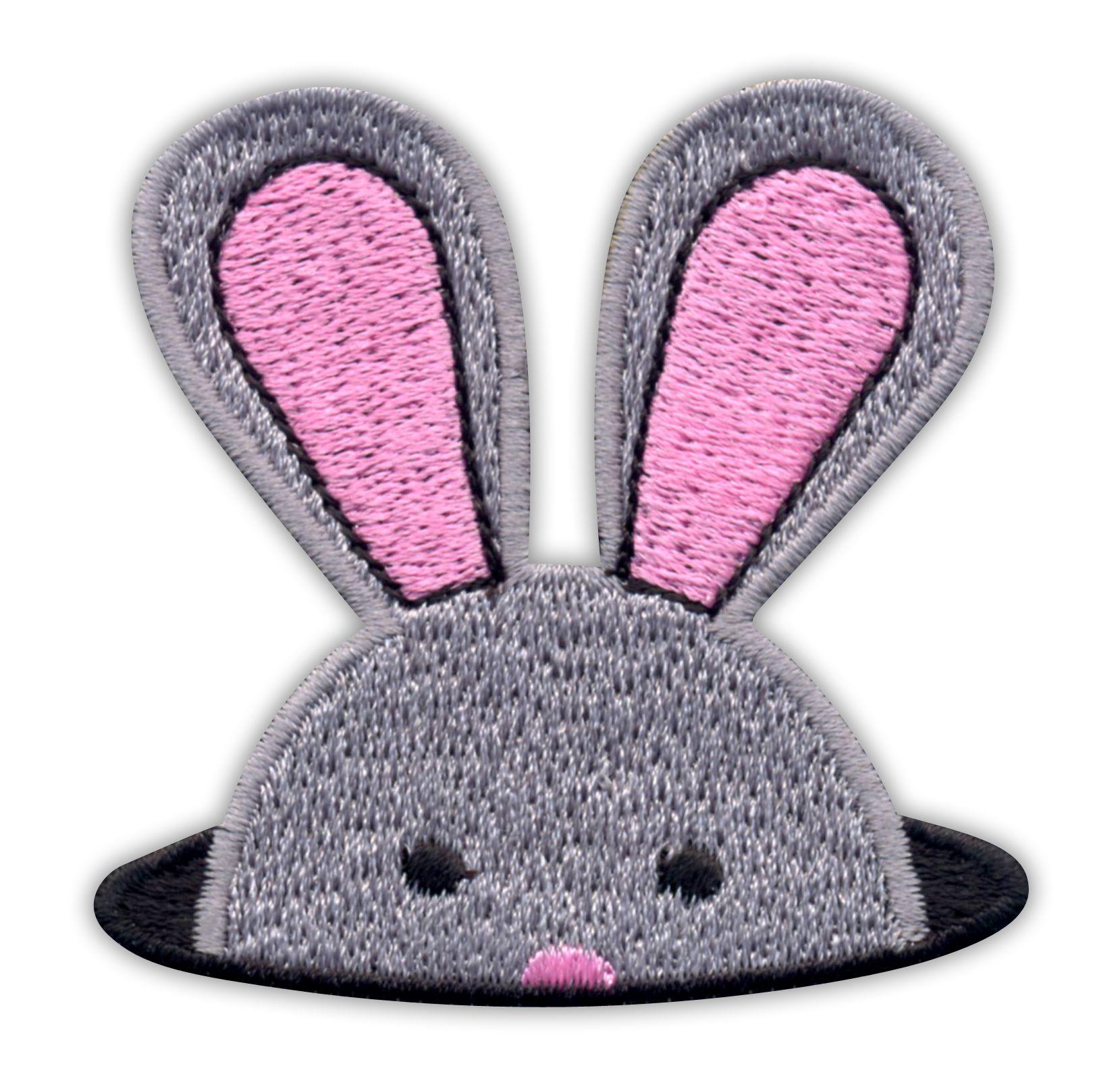 Patch - Hare králik Bunny Bunny výšivky