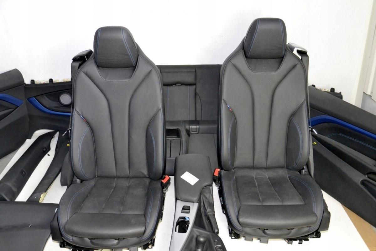 bmw f33 f83 кресла шторки туннель lcnl m-pakiet