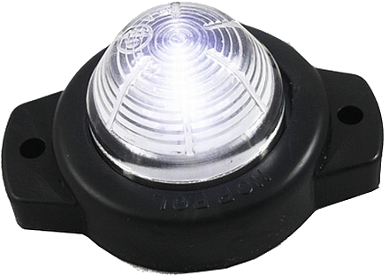 лампа габаритный led obrysówka белая диодов контрольная