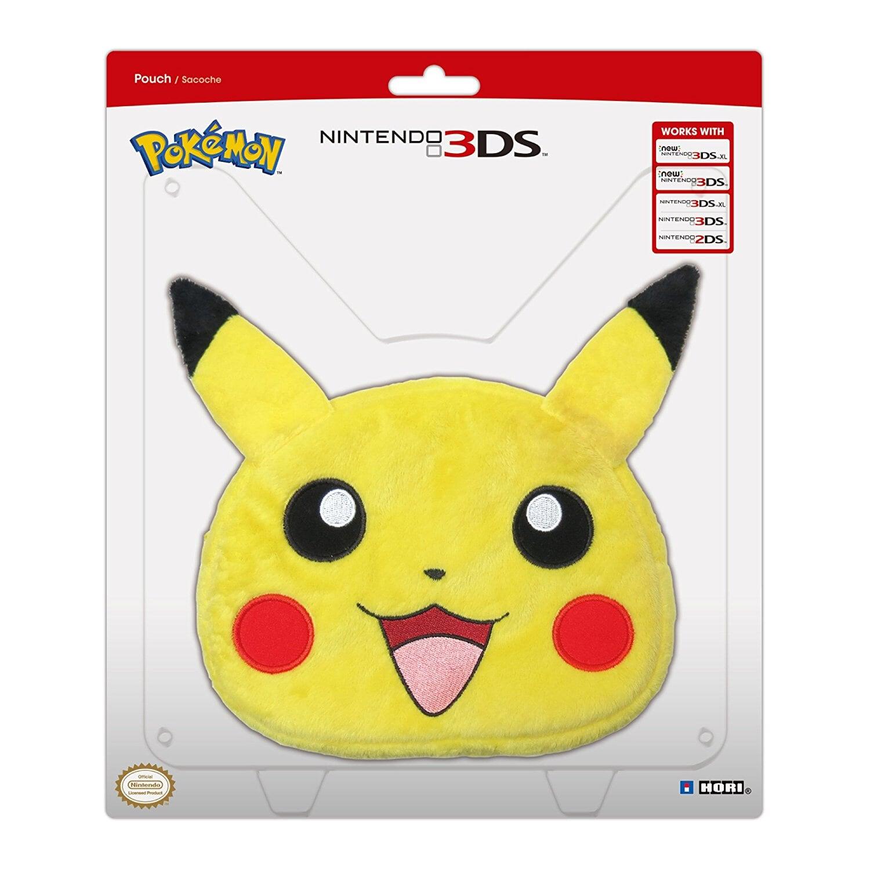 e26541d6b39d21 HORI Etui New Nintendo 3DS XL Pikachu Plush Pouch 6737160796 - Allegro.pl