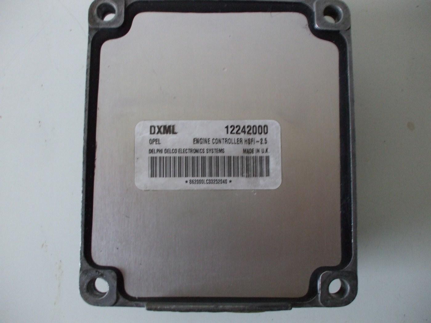 opel meriva 1 6 компьютер 12242000 dxml выход