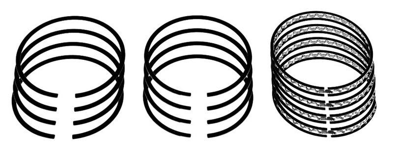 кольца поршневые chevrolet captiva 24 16v 06-