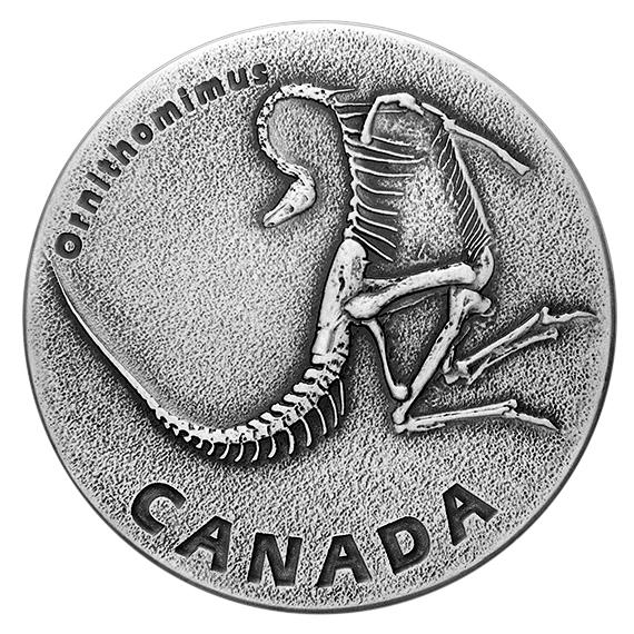 Kanada 2017 20 $ Staroveká Kanada dinosaury * 1 *