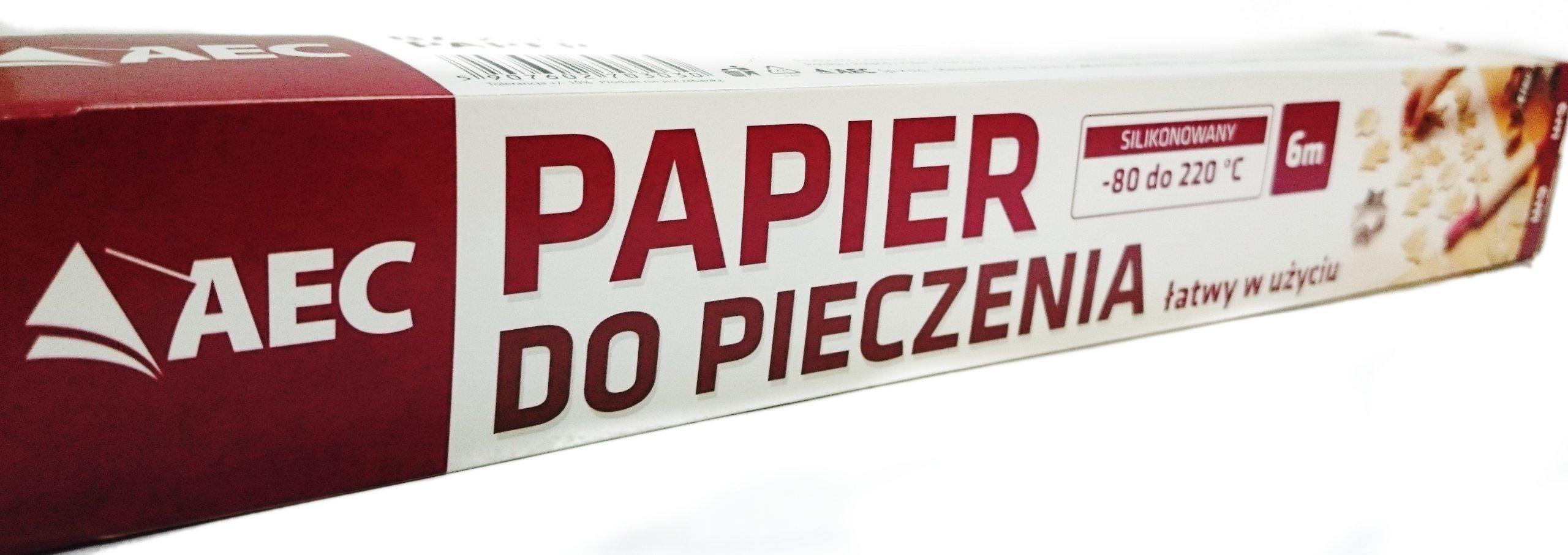 Pečenie papiera 6m ekonomický valček