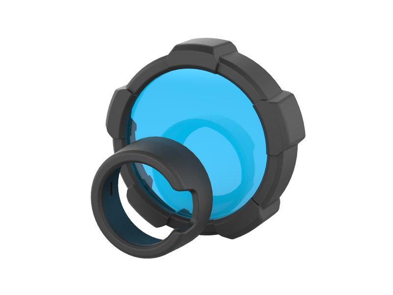 Modrý filter pre baterku Ledlenser MT18 85.5 mm