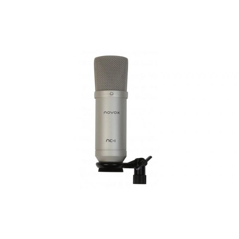 Novox NC-1 Silver USB kondenzátorový mikrofón striebro