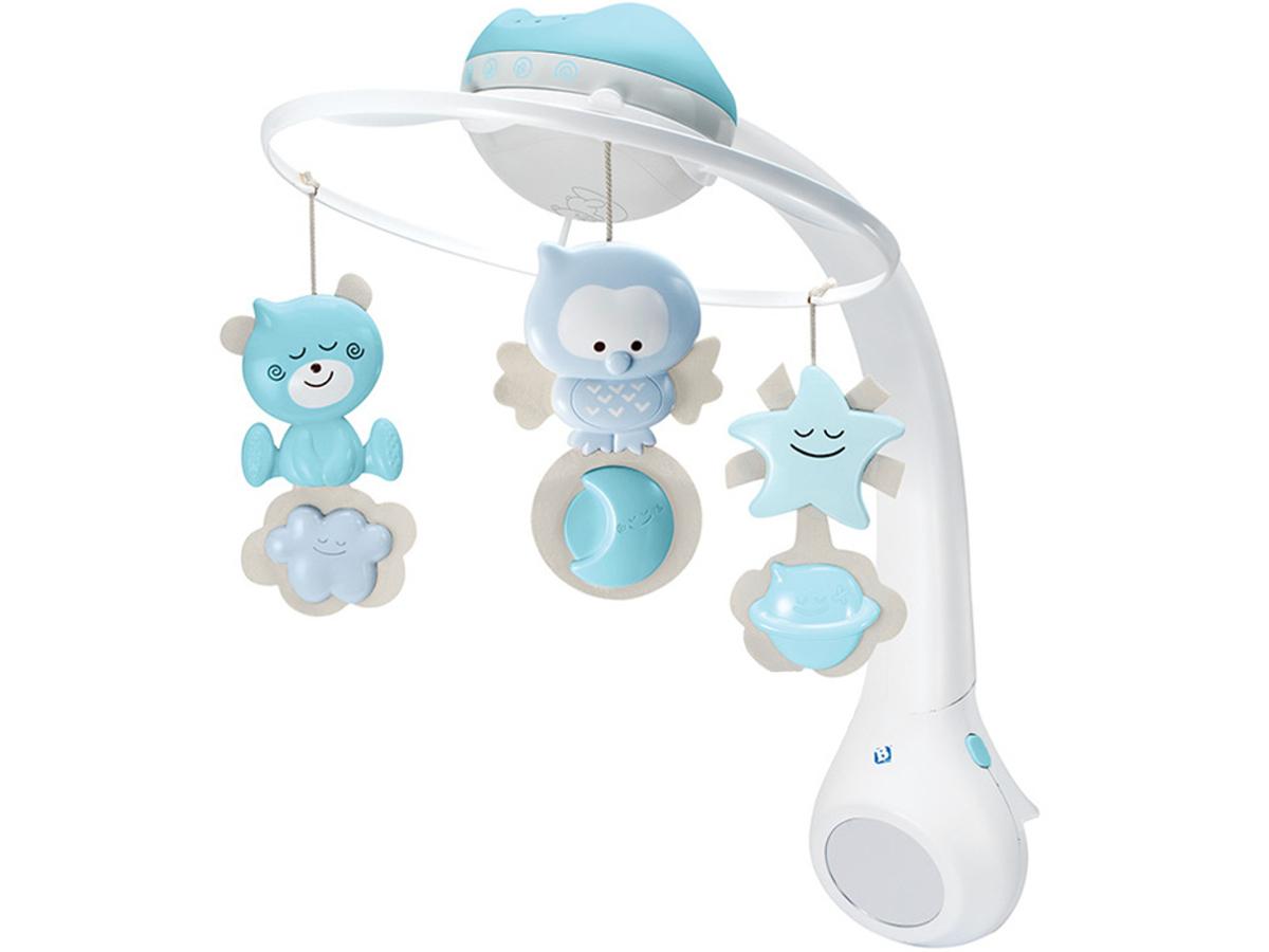 B-Kids Projektor Karuzela для łóżeczka 3 в 1 kolory