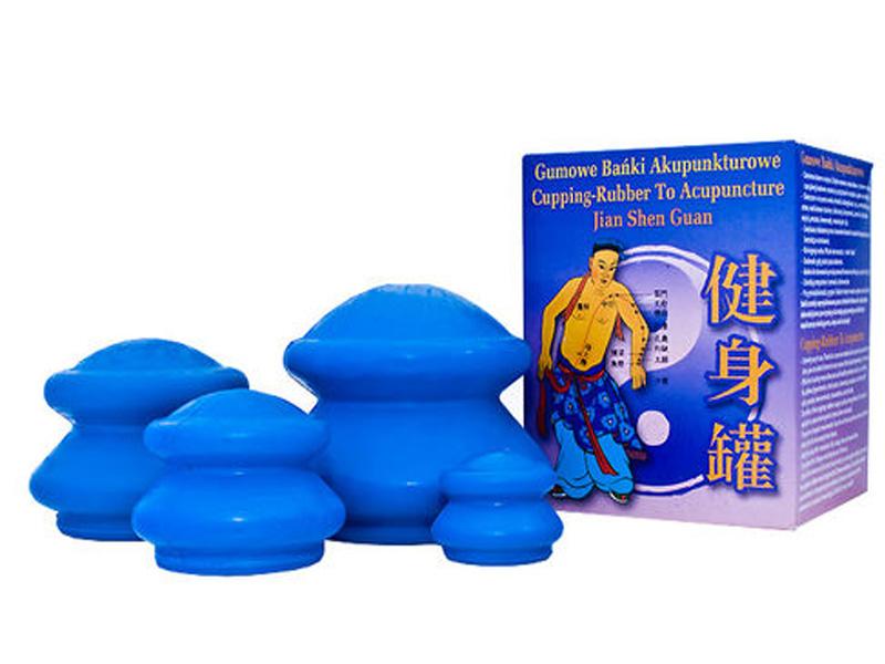 4x bublina čínska bublinková guma masáž celulitídy