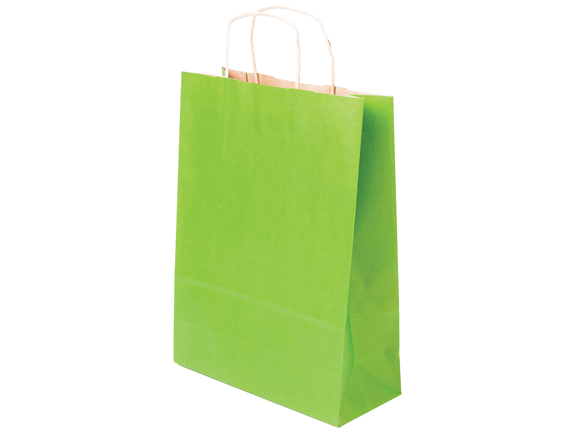723272f94b1cc Torby papierowe 24x10x32cm jasno zielone a4 50szt 7684143030 - Allegro.pl