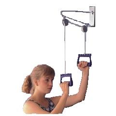 Zariadenie na cvičenie horných končatín, ramena, ruky