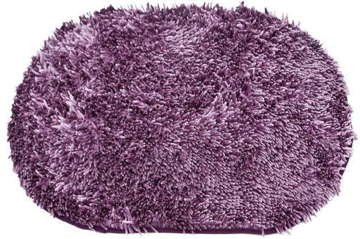 Kúpeľňa koberec EuroFirany 60x90 Shaggy fialová