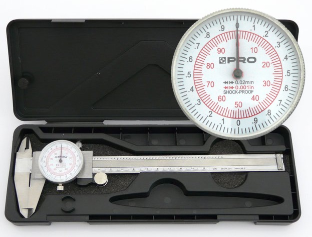 CLOCK CALIPER 0.001 V SHOUP PROFTH-150MM