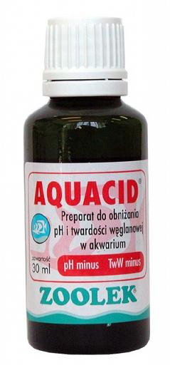 ZOOLEK AQUACID pH minus понижает pH, KH 250 мл