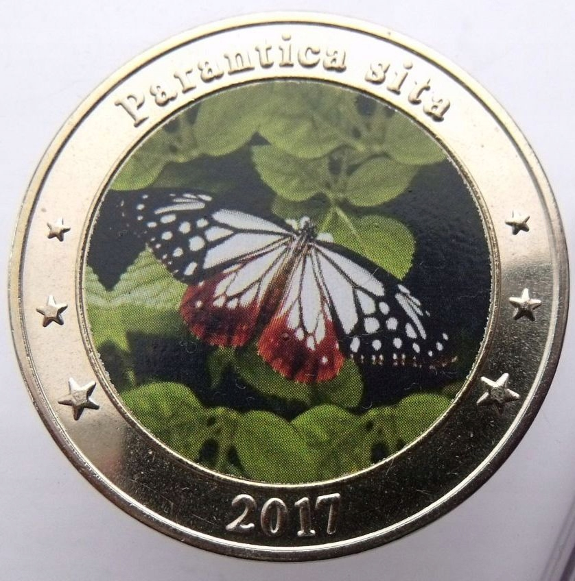 WEST NUSA TENGGARA INDONEZJA 1 DOLLAR 2017 MOTYL
