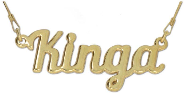 Dla dzieci złote kolczyki, a dla mamy naszyjnik Kinga