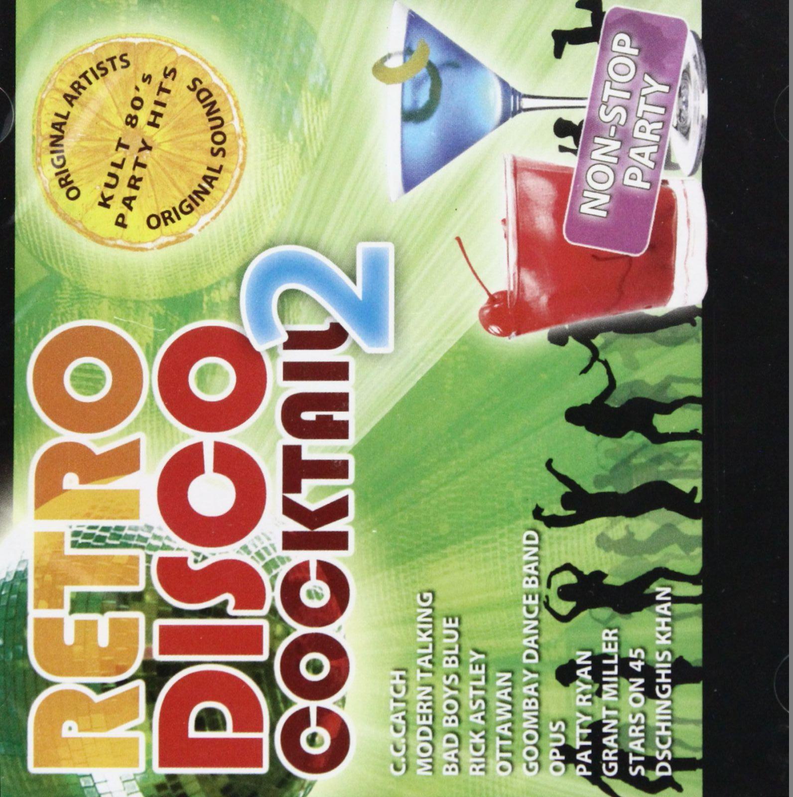 RETRO DISCO KOKTAIL 2 - CD NON STOP PARTY + MIX