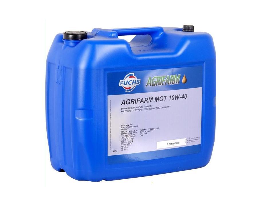 Motorový olej Fuchs Agrifarm Mot 10/40 10W40 20 L