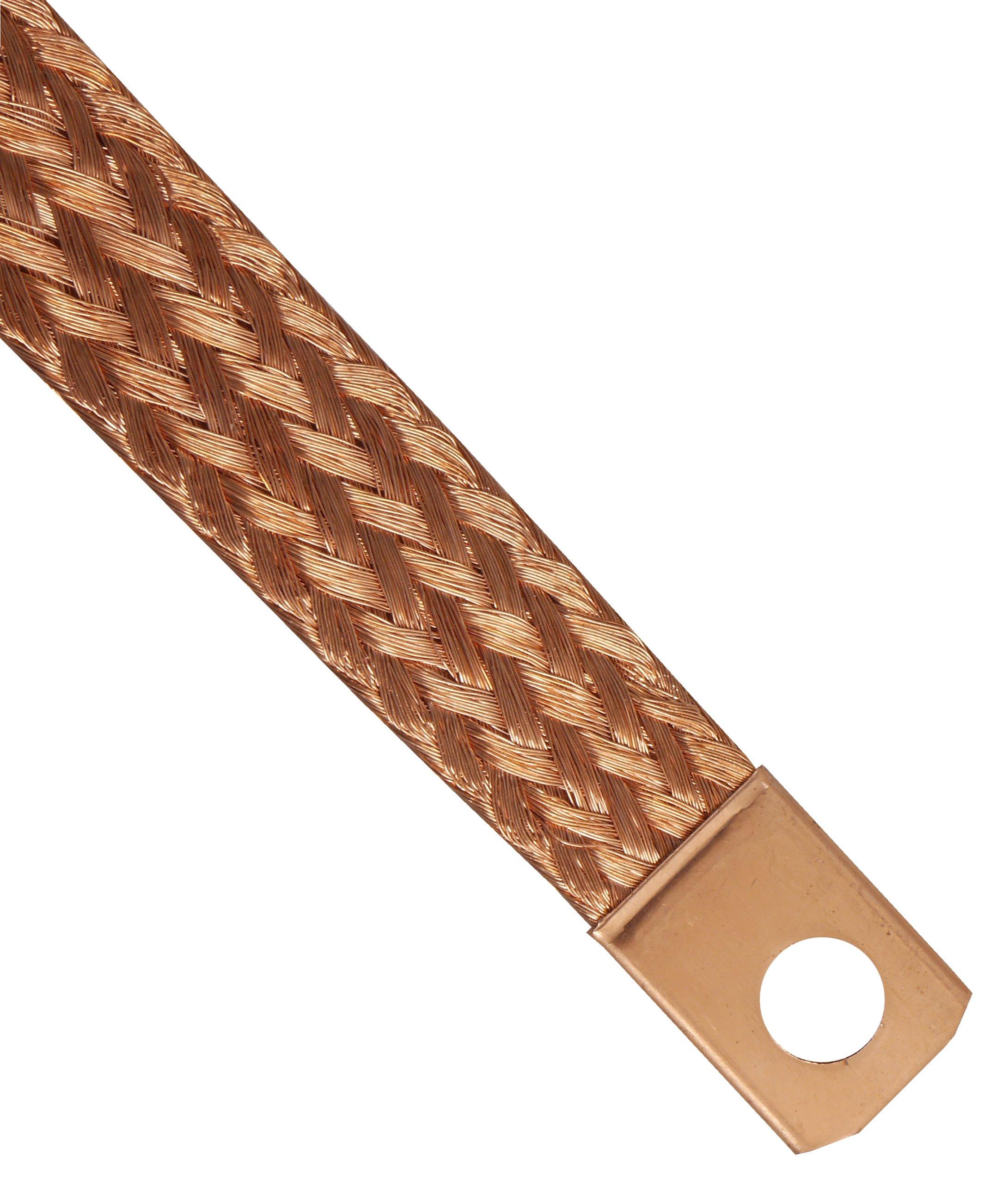 плетенка кабель кабель массы массовый 31cm медный
