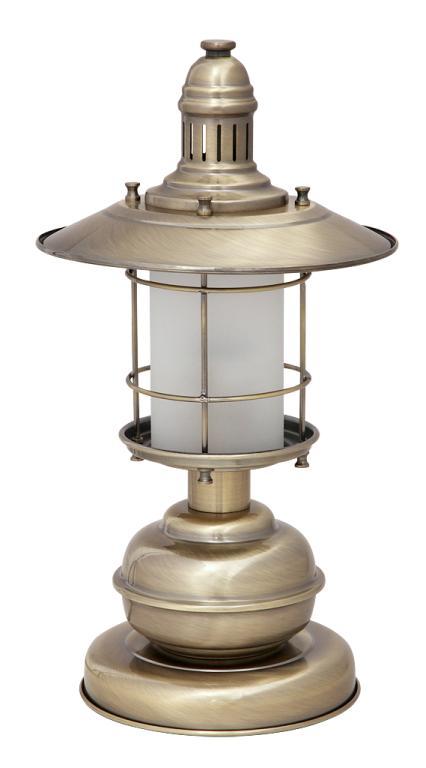 LAMPA TABUĽKA VINTAGE LAMPA LOFT PATINOU 007992