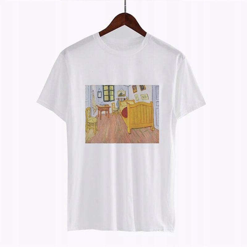 T-tričko s obrázkom Vincent van Gogh'RETRO L
