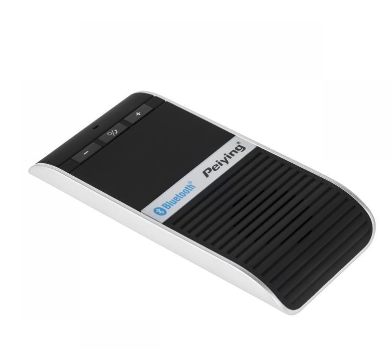 Peiying PY0013 Zestaw Głośnomówiący Bluetooth D68