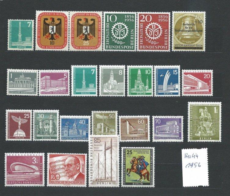 BERLIN ZACHODNI ROCZNIK 1956 CZYSTE