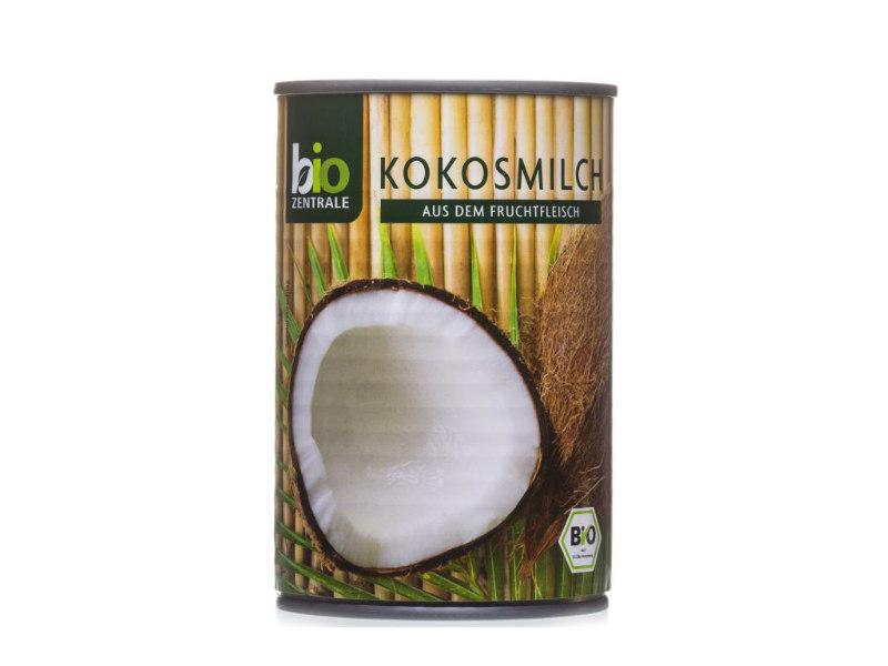Кокосовое молоко 400 мл Bio Zentrale Gluten Free EKO