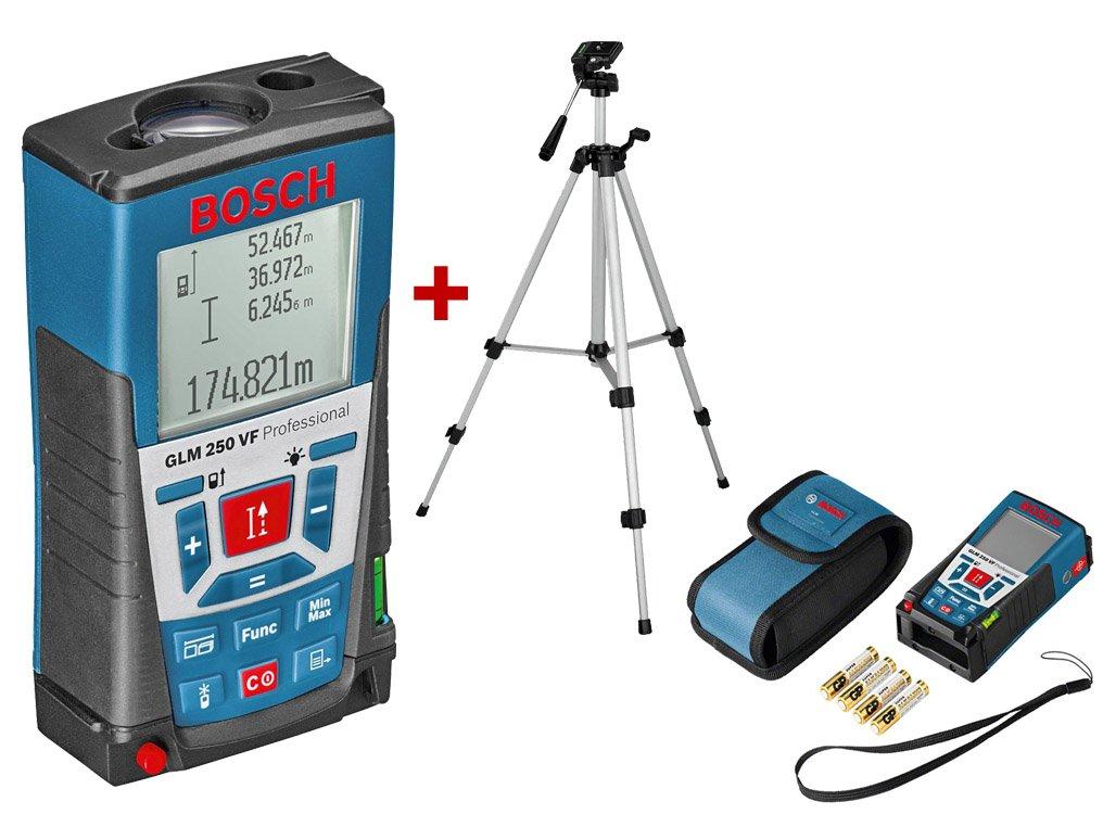 BOSCH GLM 250 VF Laser 0.05-250m Statív