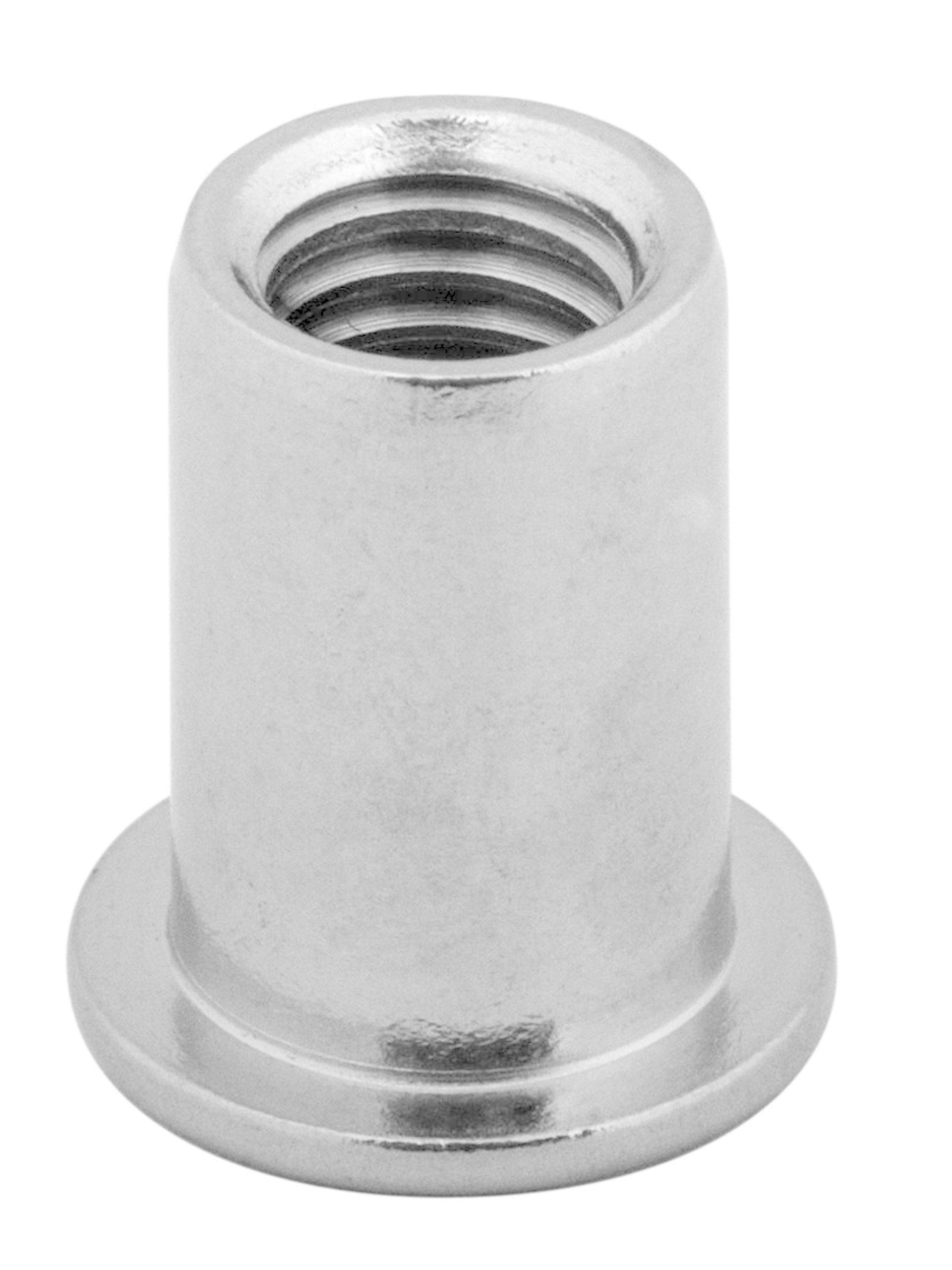 M4 Nitónové skrutky ploché hliníkové hliníkové 10ks