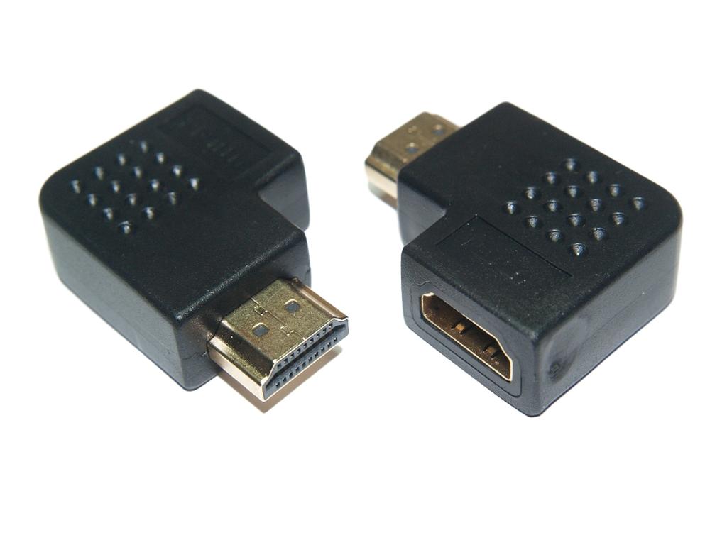 Adaptér Glot 90 HDMI Zásuvka zásuvky vpravo