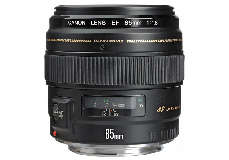 Canon EF 85 mm F / 1.8 USM - NEW