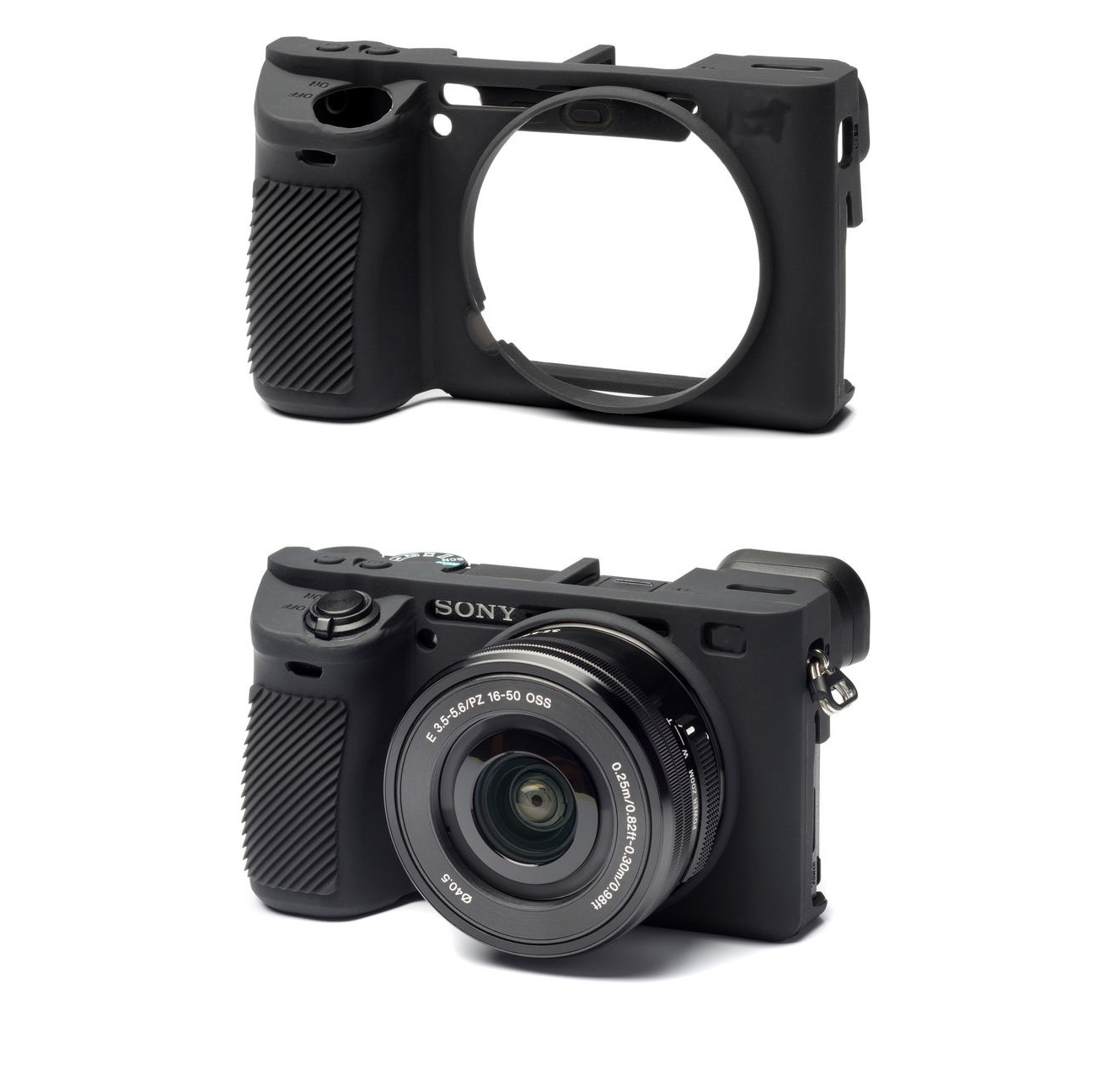 Item SILICONE PROTECTIVE CASE for SONY Alpha A6500