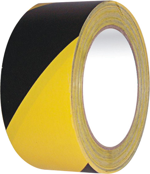 ВНИМАНИЕ TAPE YELLOW BLACK 50 мм x 33 м BHP