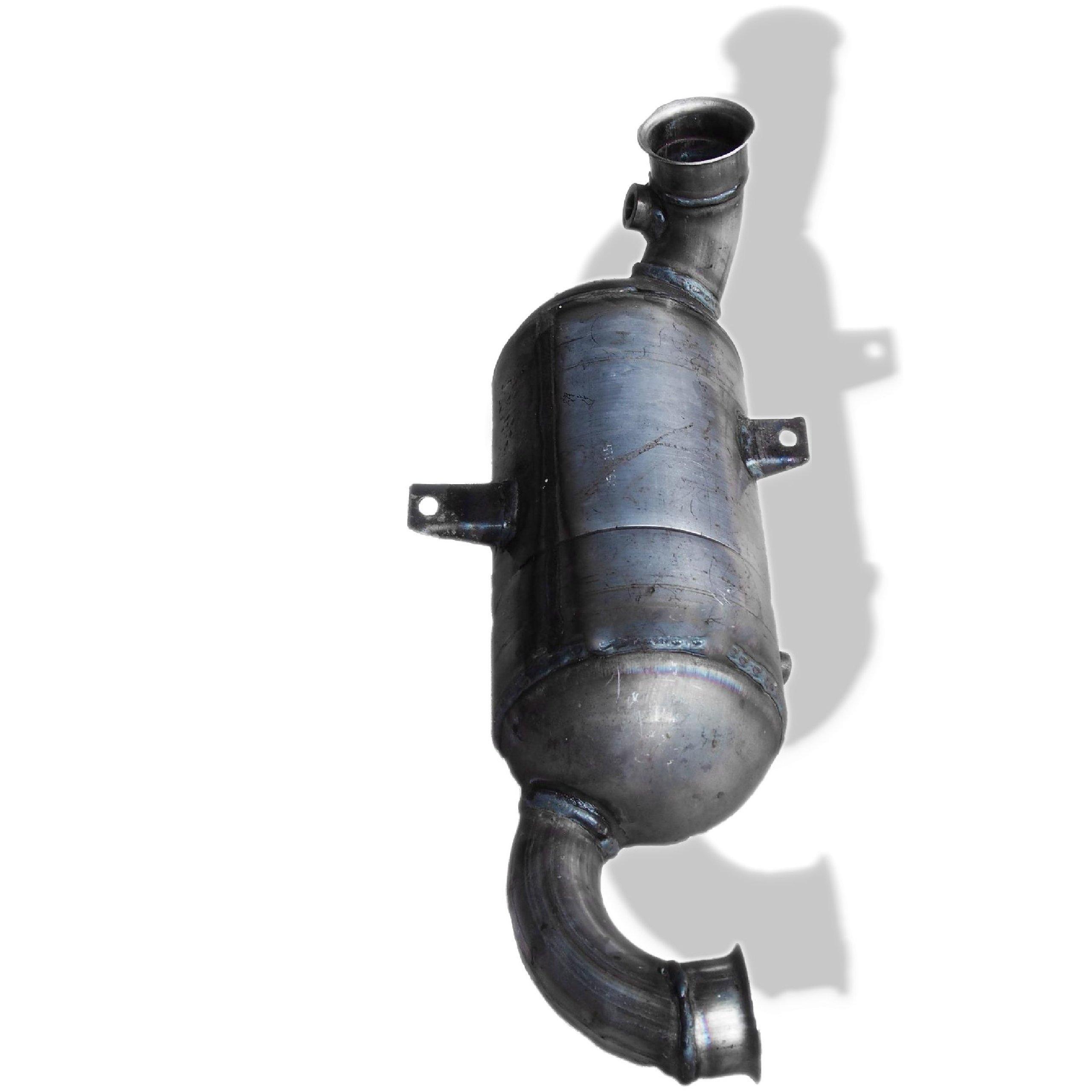 dpf fap + катализатор peugeot 307 308 407 16