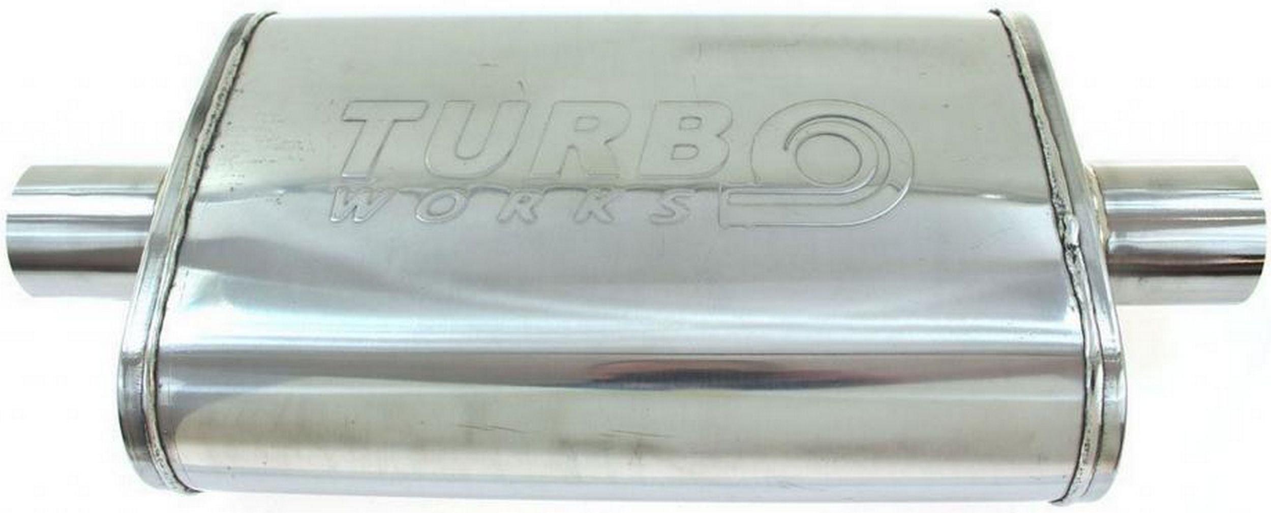 глушитель спортивный Средний 2'' turboworks сталь 304