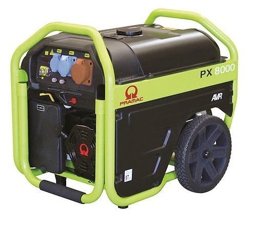 Приводимый в действие генераторная установка PRAMAC PX8000 400 AVR