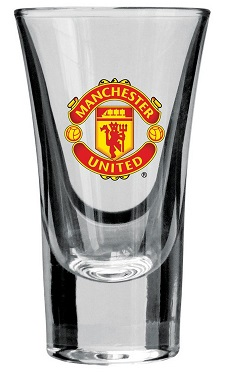 810259 Manchester United Vodka okuliare 3 ks