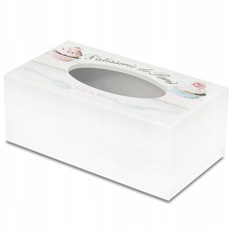 Drevený Box pre Obrúsky Dekoratívne Retro