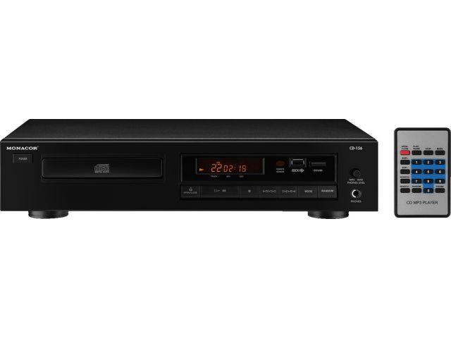 Item Monacor CD-156 CD/MP3 Player stereo