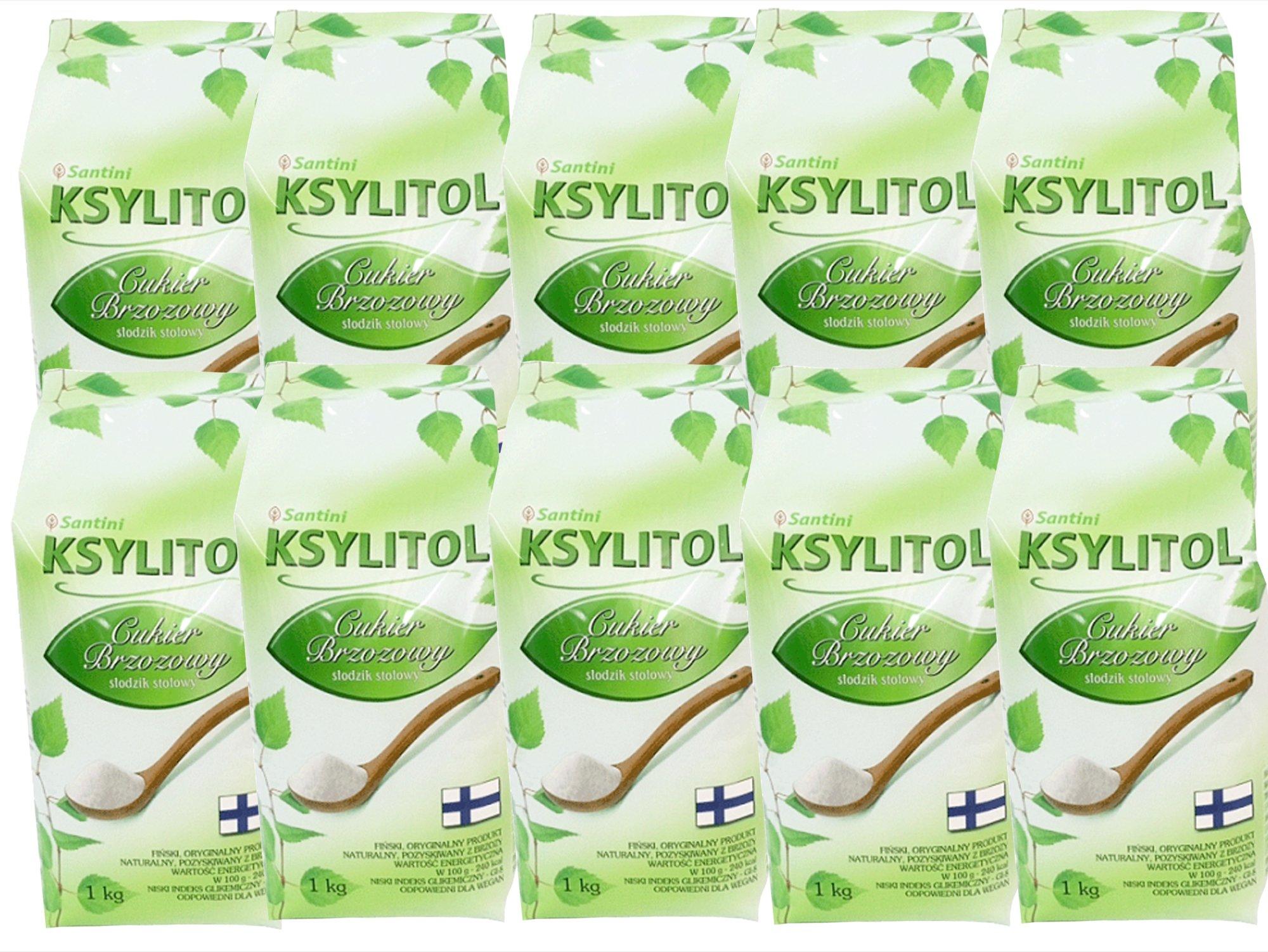 XYLITOL fínsky 10 kg 100% breza cukru ekonomiky.