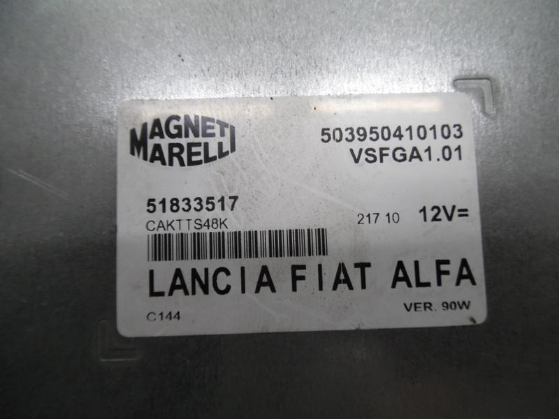 CONTROL PANEL 51833517 FIAT DOBLO II 10-2017Y