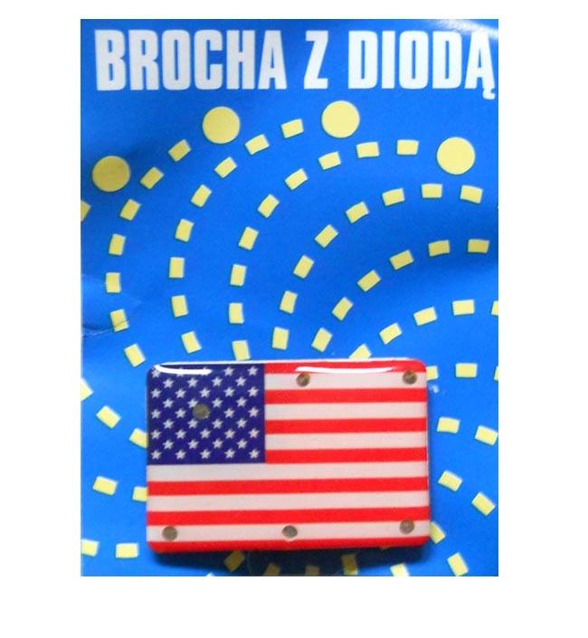 Купить Дело в магнит брошь - Америка на Otpravka - цены и фото - доставка из Польши и стран Европы в Украину.