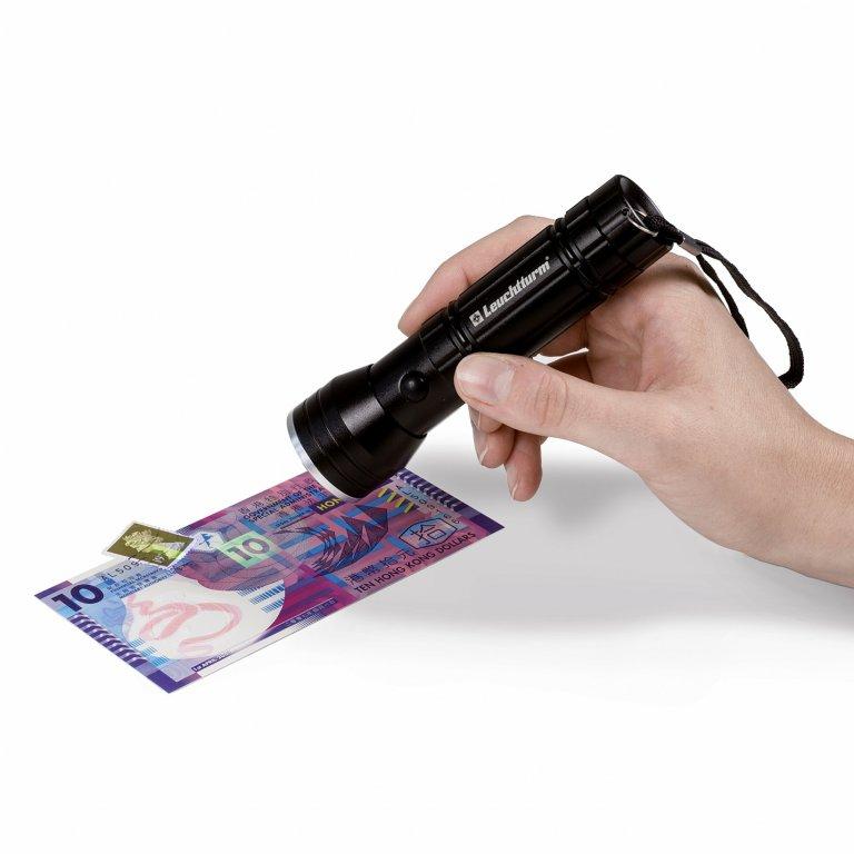 Lampa UV 2 w 1 do znaczków i banknotów -Leuchtturm