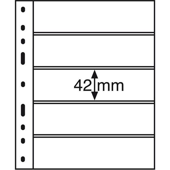 Leuchtturm - OPTIMA 5 C Stránka pre bankovky atď.