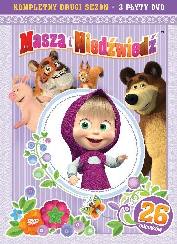 Item MASHA and the BEAR part 4+5+6 3DVD BOX 26 UNP 24 hours